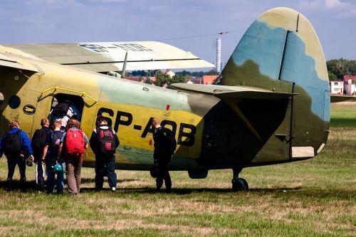 aircraft double decker propeller