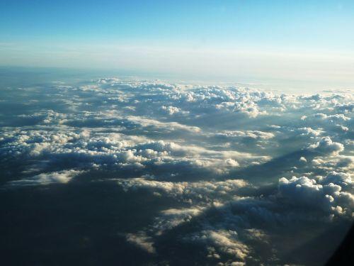 aircraft cloud clouds