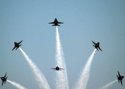 aircraft flight demonstration squadron