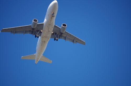 aircraft landing holiday