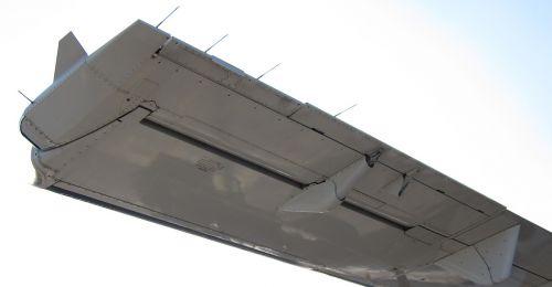 aircraft aileron left