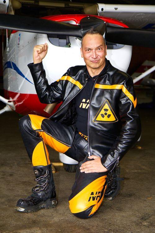 aircraft human man