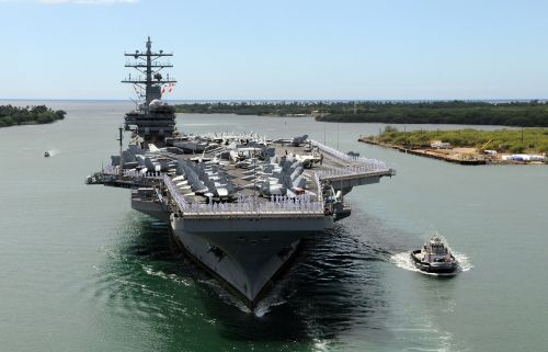 aircraft carrier ship naval
