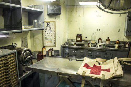 aircraft carrier infirmary hospital navy