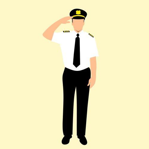 airline badge cap
