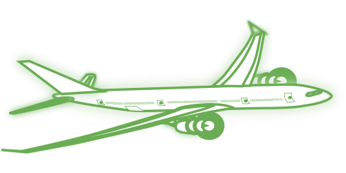 airliner airline aircraft