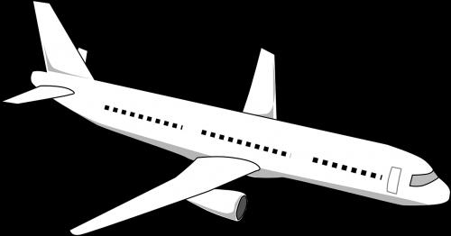 airliner plane flying