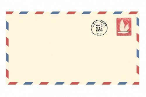 airmail envelope vintage airmail