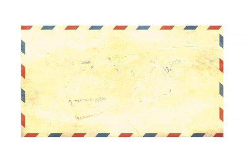 Airmail Envelope Vintage Grunge