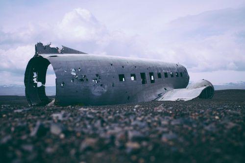 airplane wreck wreckage