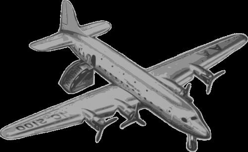 airplane casablanca landed