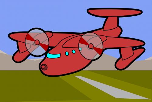 airplane plane field