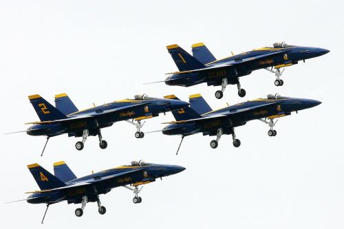 airplane blue angles aircraft