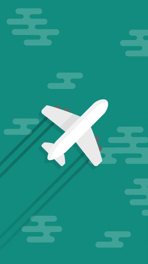 airplane wallpaper whatsapp