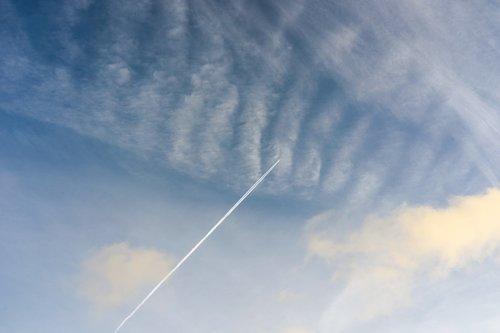 airplane  chemtrails  sky