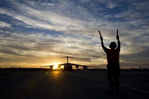 airplane cargo airman