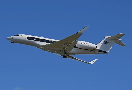 airplane gulfstream g-650 jet