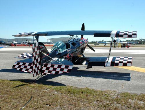 Airplane At Airshow