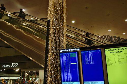 airport departure travel