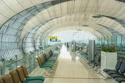 airport gate flight