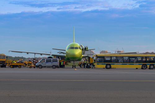 airport plane air transport