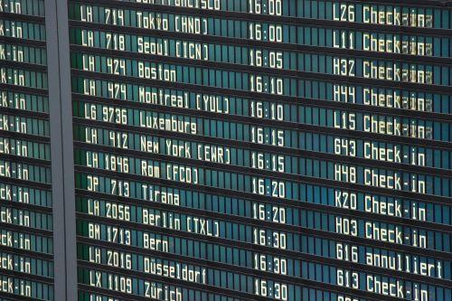 airport board departure