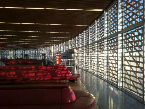 airport terminal departure