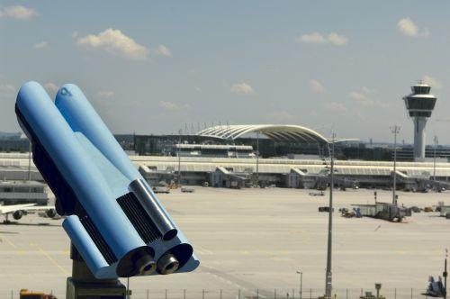 airport munich telescope