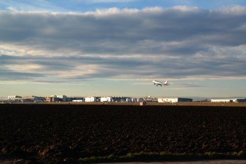 airport aircraft departure