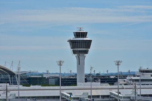 airport munich tower