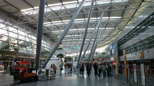 airport checkin düsseldorf