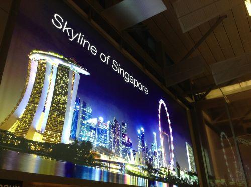 airport advertising singapore