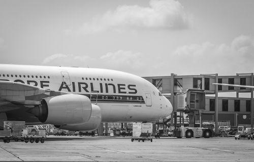 airport airbus a380 frankfurt