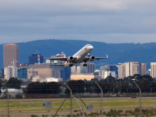 airport takeoff aircraft
