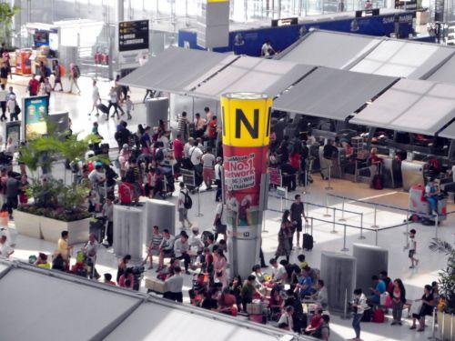Airport Check In Desks