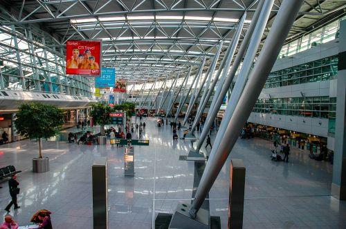 airport düsseldorf airport architecture