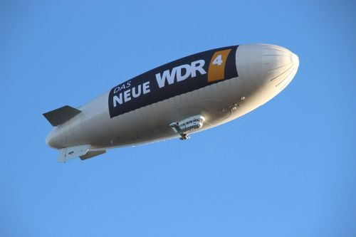 airship sky zeppelin
