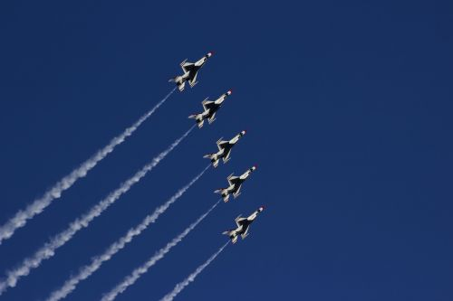airshow thunderbirds nellis air force base