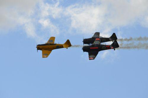 oro šou,vintage,lėktuvai,lėktuvas,orlaivis,retro,propeleris