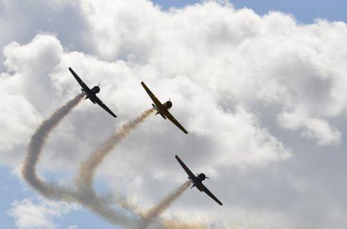 oro šou,oras,orlaivis,aviacija,propeleris,lėktuvas