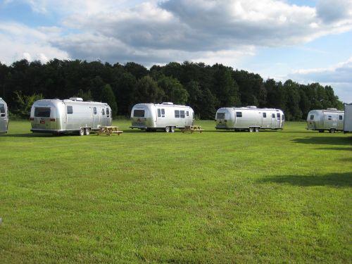 airstream park trailers vintage