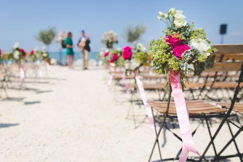 aisle beach bloom