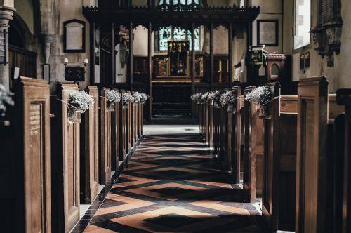 aisle altar building