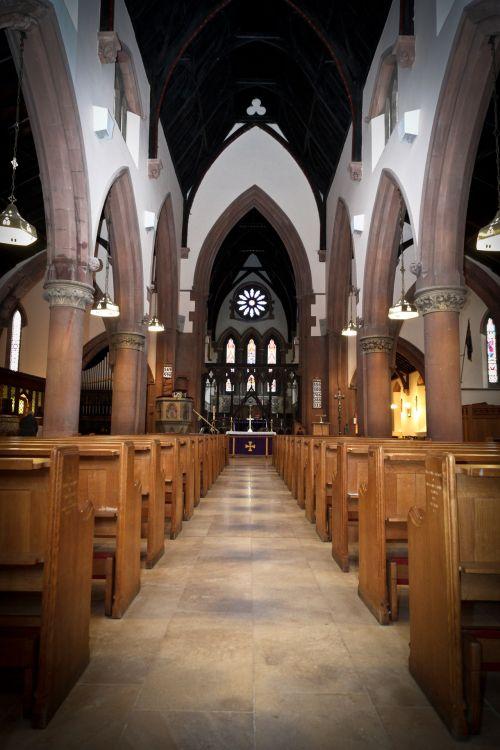Aisle St Mark's Church, Pensnett