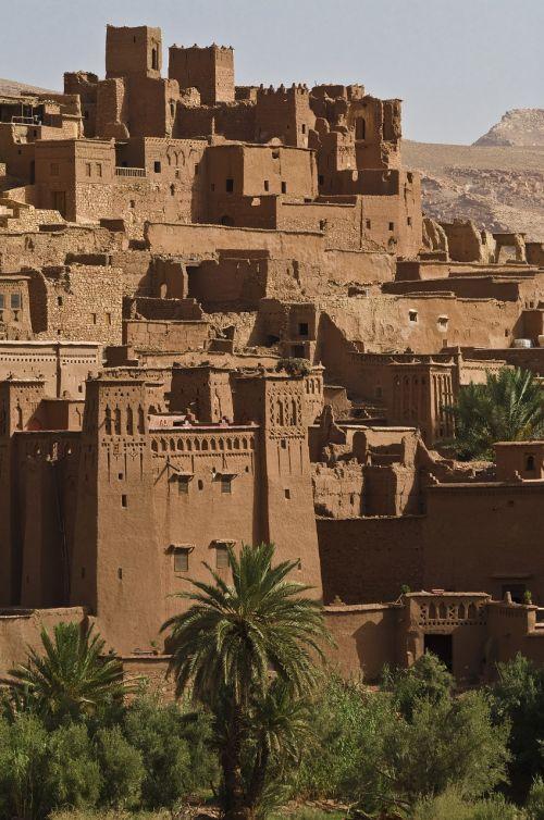 ait ben haddou desert city oasis