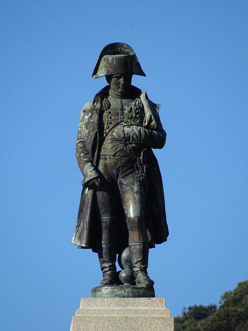ajaccio  statue  corsica