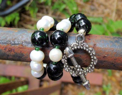 akoya pearls dark green dragon veins