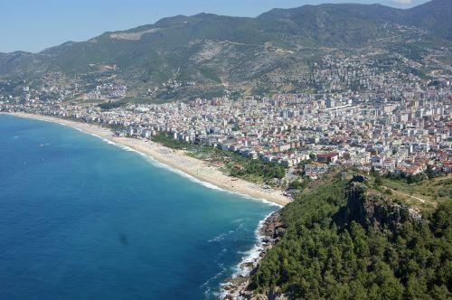 alanya turkey panorama