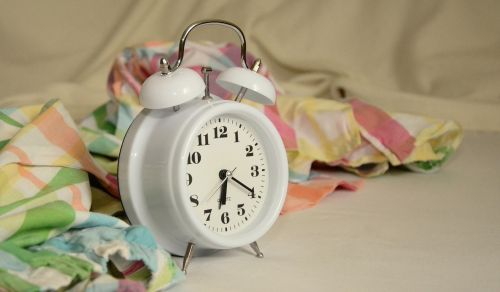 alarm clock stand up morning