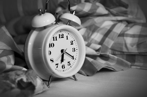 alarm clock stand up time of